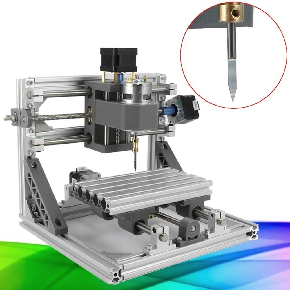 Universal 3 Axis DIY CNC 2418 CNC Router PCB Milling Carving