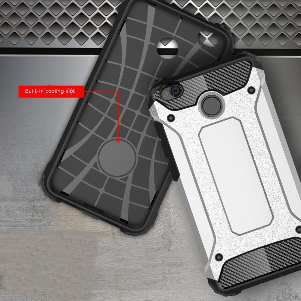 Armored Hybrid Thick TPU & PC Hard Back Protective Shell Case For Xiaomi Redmi 4X