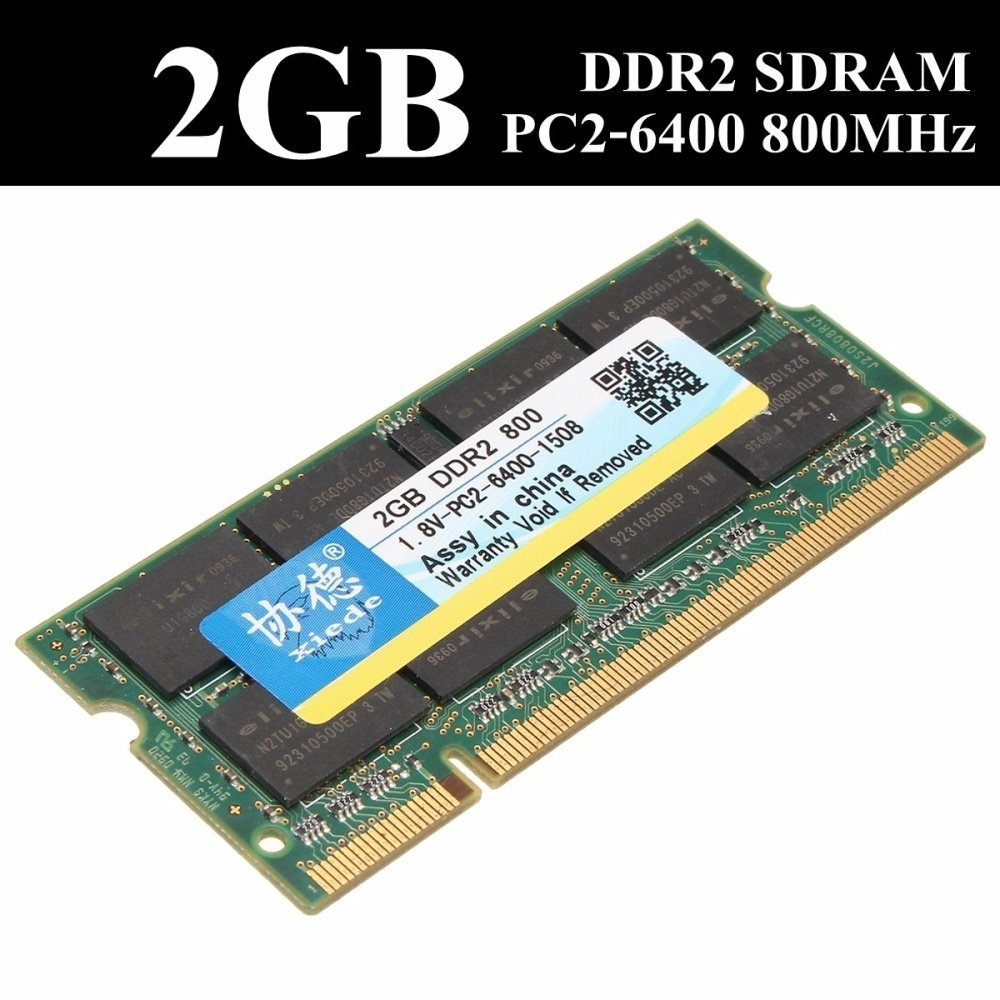 Buy Universal Xiede 2gb 2g Pc2 6400 Ddr2 800mhz 200 Pin Cl5 Laptop Image