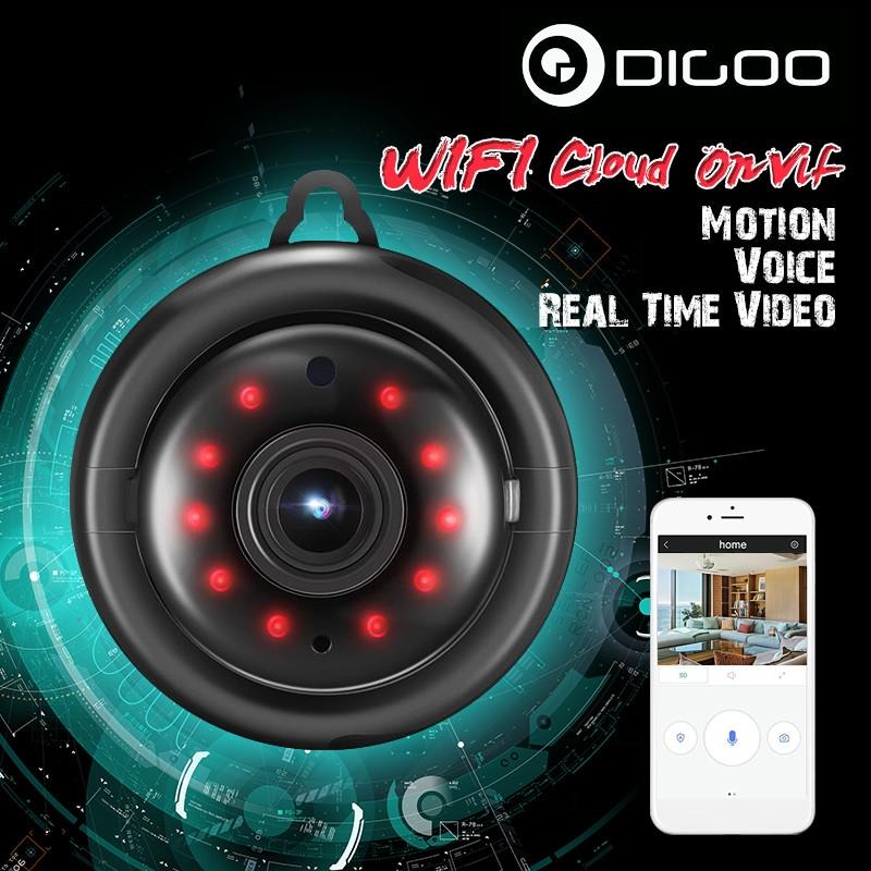 Universal Digoo DG-MYQ 720P Cloud Storage WiFi IP Camera Smart Home