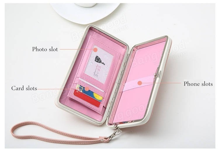 Universal 5.5 Inch High Heels Functional Phone PU Wallet Case Cover For Xiaomi Samsung Sony Huawei