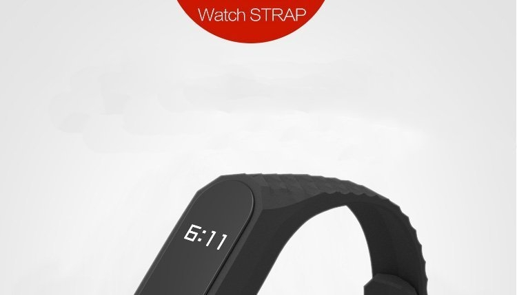 Mijods Colorful Durable Replacement Watchband Strap For Xiaomi Mi Band 2