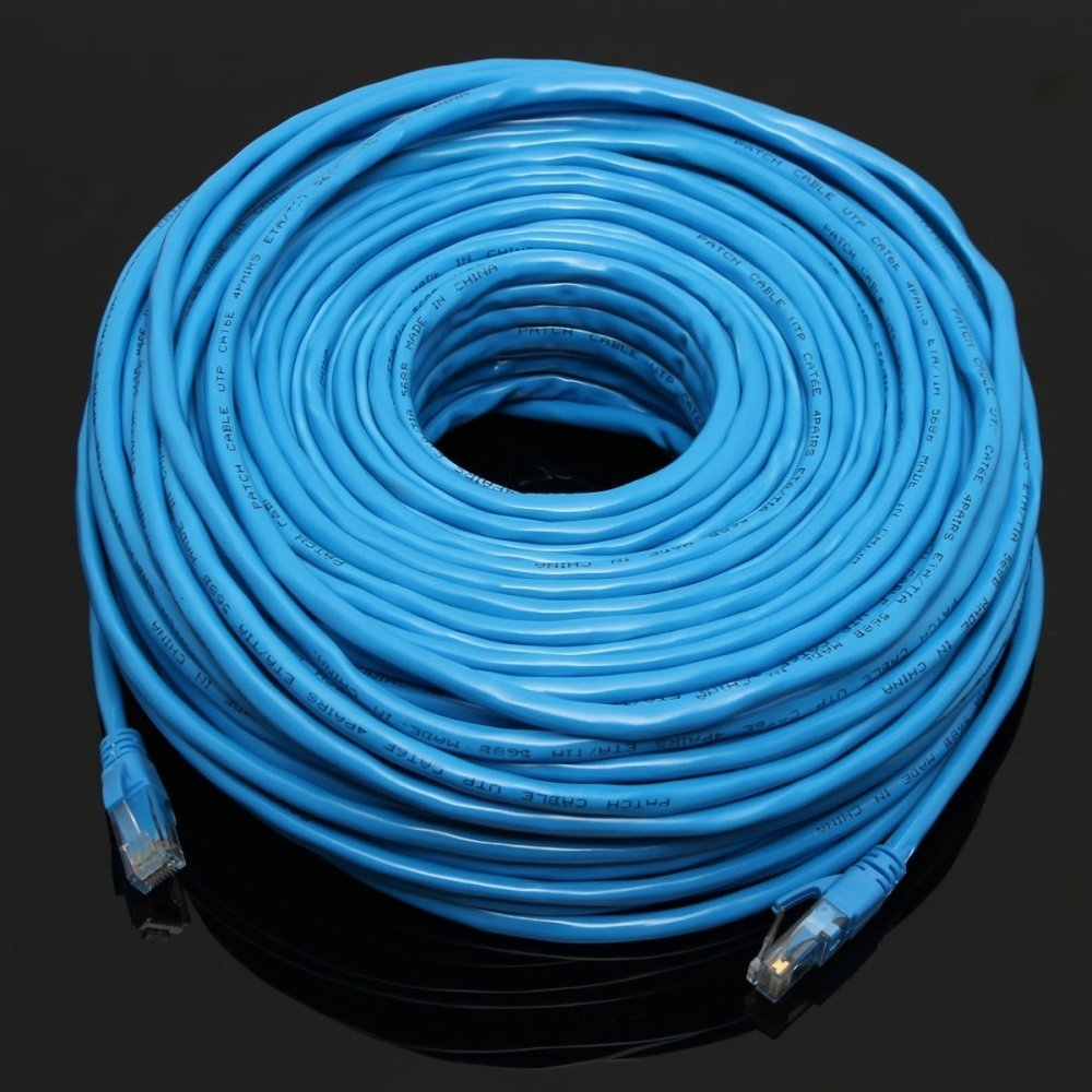 Buy Universal Blue 50m 164feet Rj45 Cat6 Cat6e Ethernet Internet Lan Cable Wiring 1x 164ft Wire Network Cord