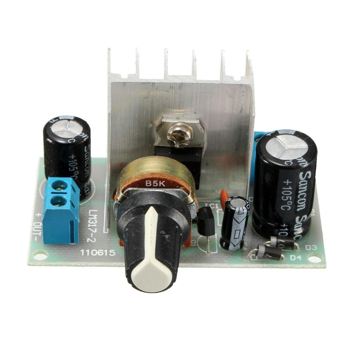 Buy Universal Freebang New 6 24v Lm317 Ac Dc To Adjustable Voltage Regulator 1x