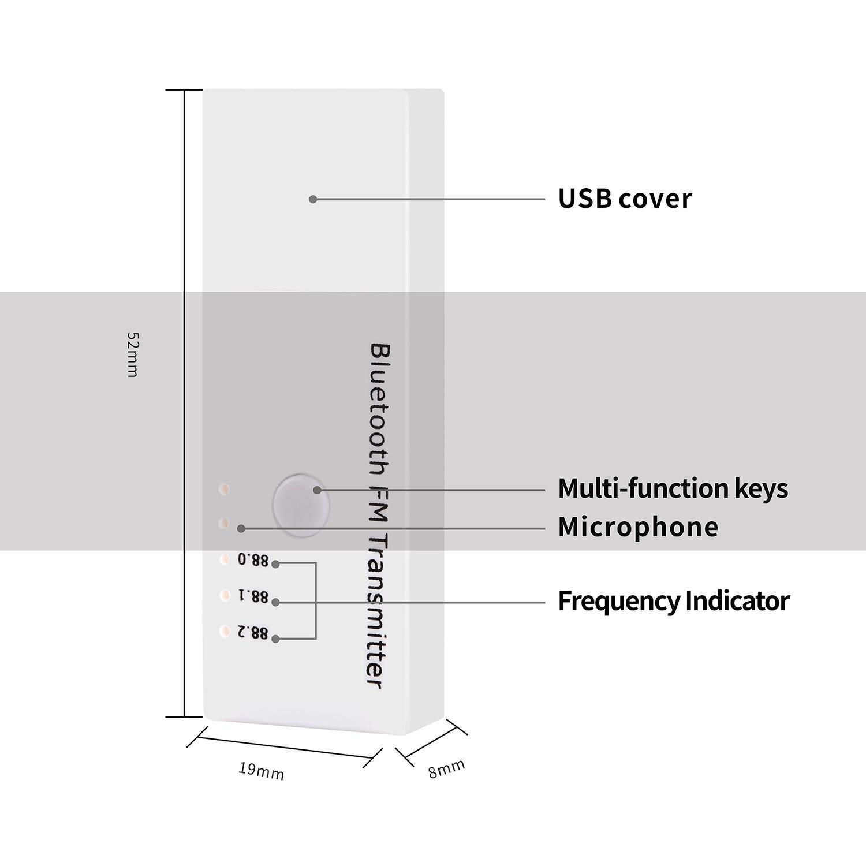 Buy Universal Car Bluetooth V42 Edr Fm Transmitter Wireless In Making 04 W 1 X