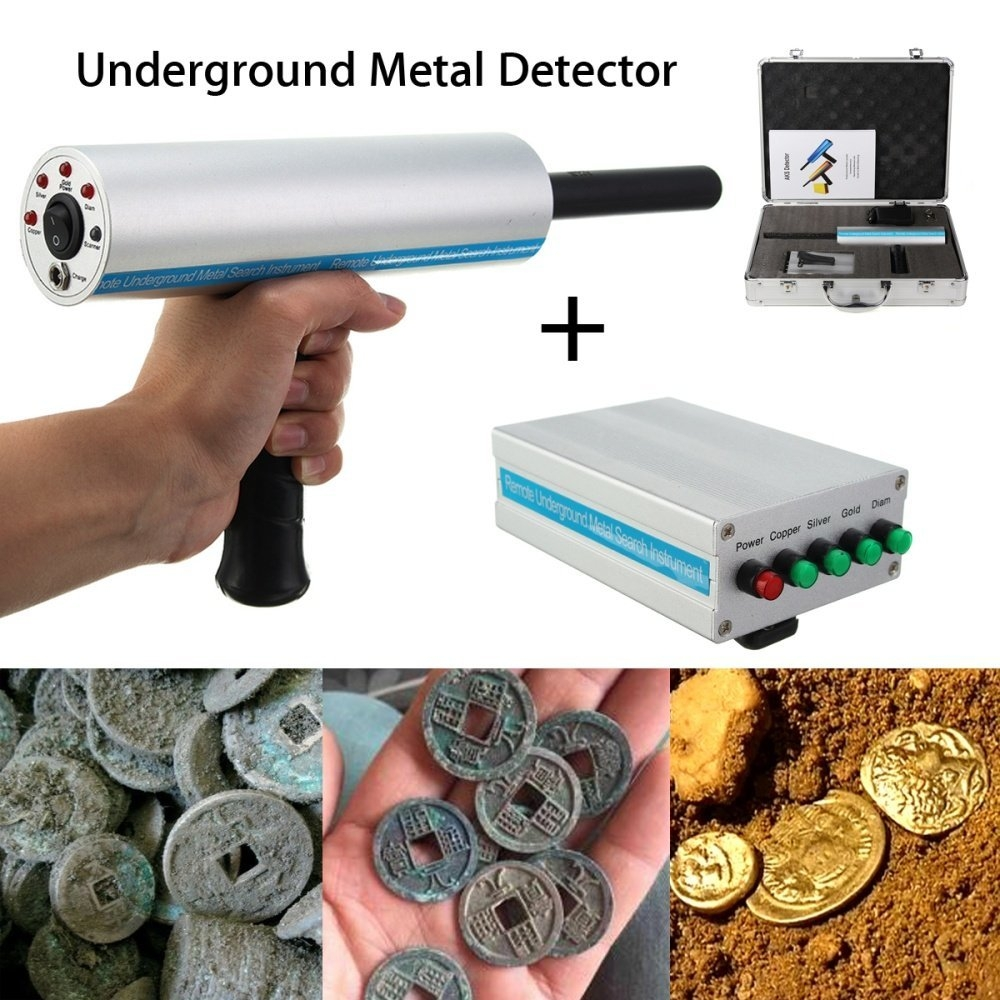 Universal 1000m Long Range Search Silver Metal Underground
