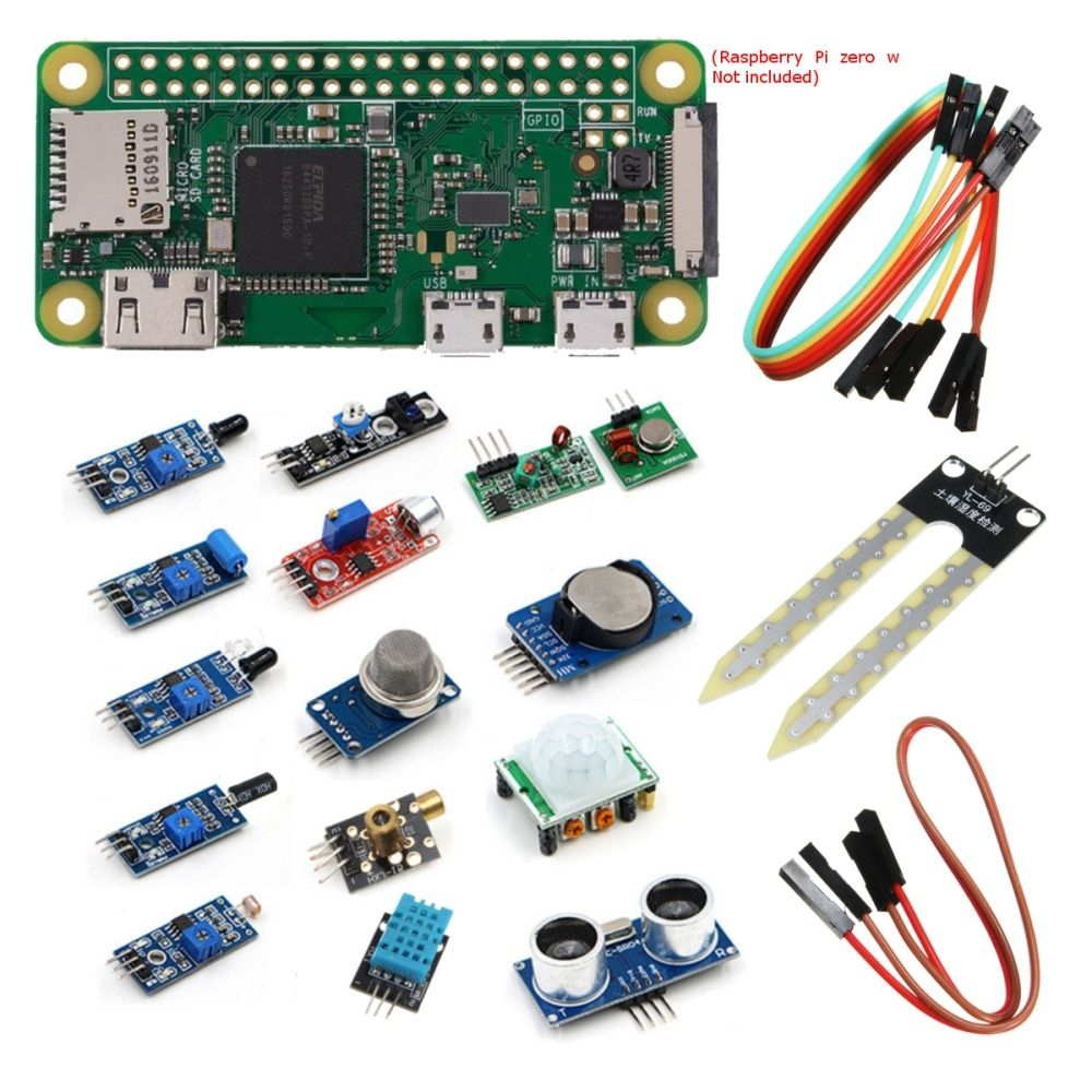 Universal 16Pcs/Set Module For Raspberry Pi 3 2 Zero W