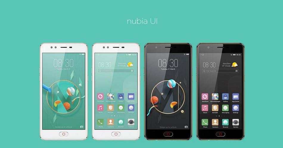 Nubia M2 Lite 5.5 inch 3GB RAM 64GB ROM MTK6750 Octa Core 1.5GHz 4G Smartphone