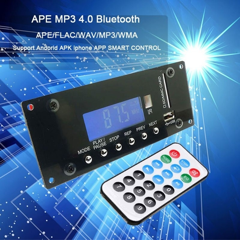 Universal Wireless MP3 Decoding Board Bluetooth Audio Module