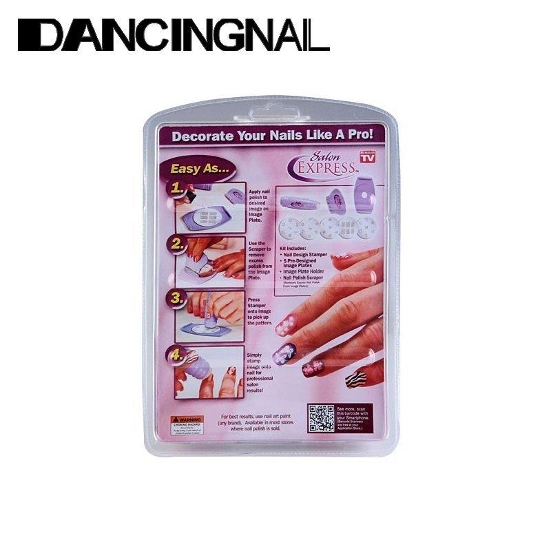 Buy Universal Nail Art Stamp Stamping Kit Diy Design Polish Design