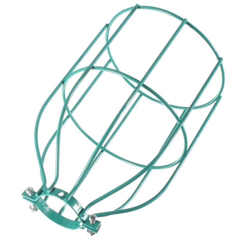 Buy UNIVERSAL Steel Wire Bulb Cage Clamp On Lamp Guard Vintage ...