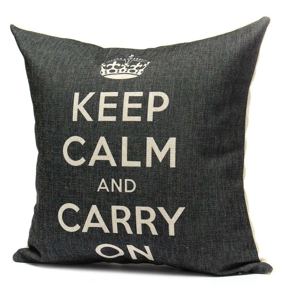 ... The pillow cover is made of high quality linen and cotton linen and it is very