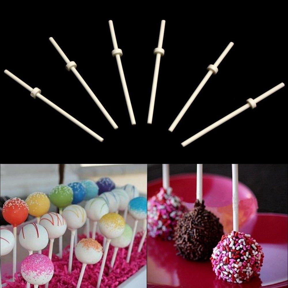 Universal 30/60Pcs Pop Food Sucker Lollipop Sticks Sweet
