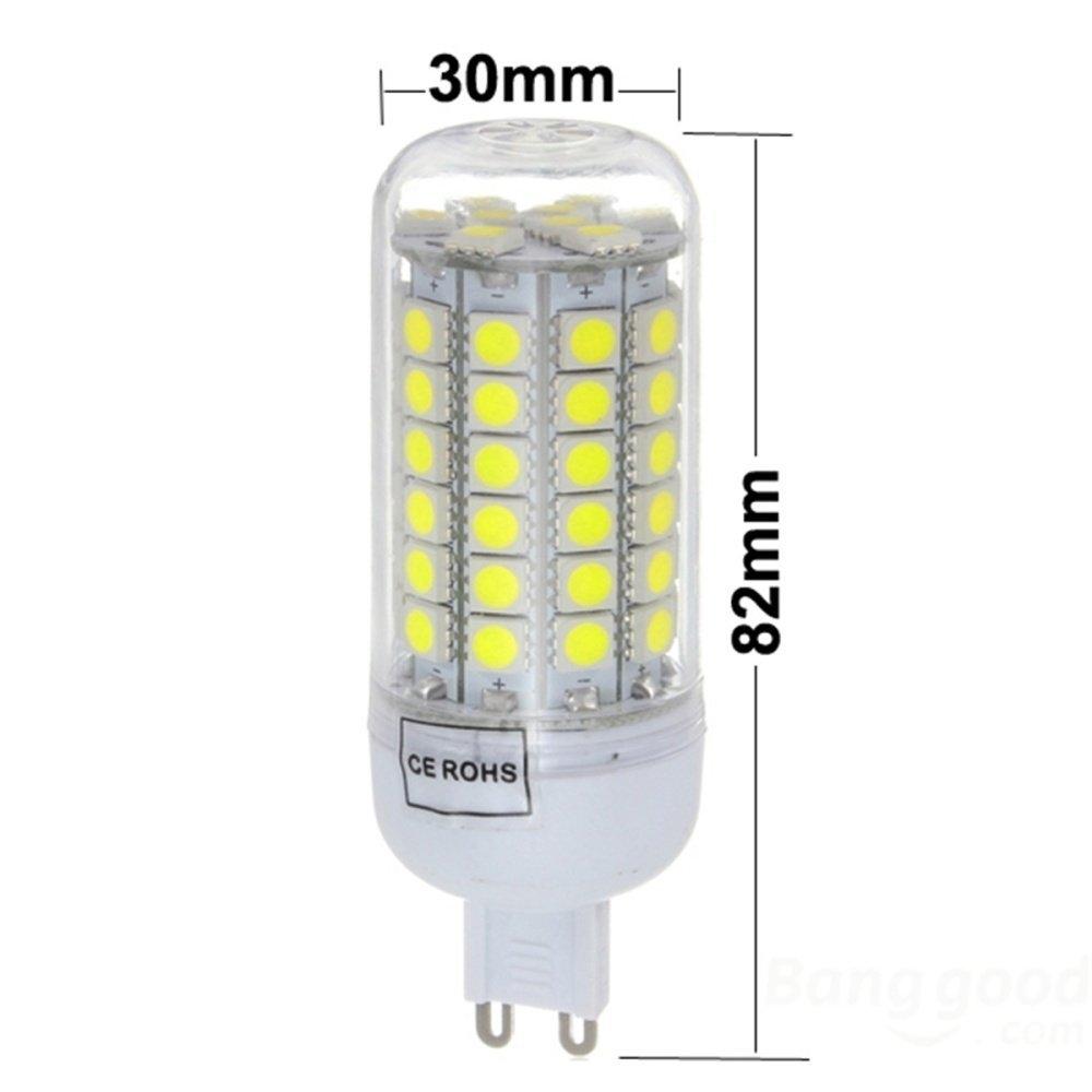 UNIVERSAL AC 220-240V G9 30/59/69 LED 5050smd 5W/7W/8W Light Lamp
