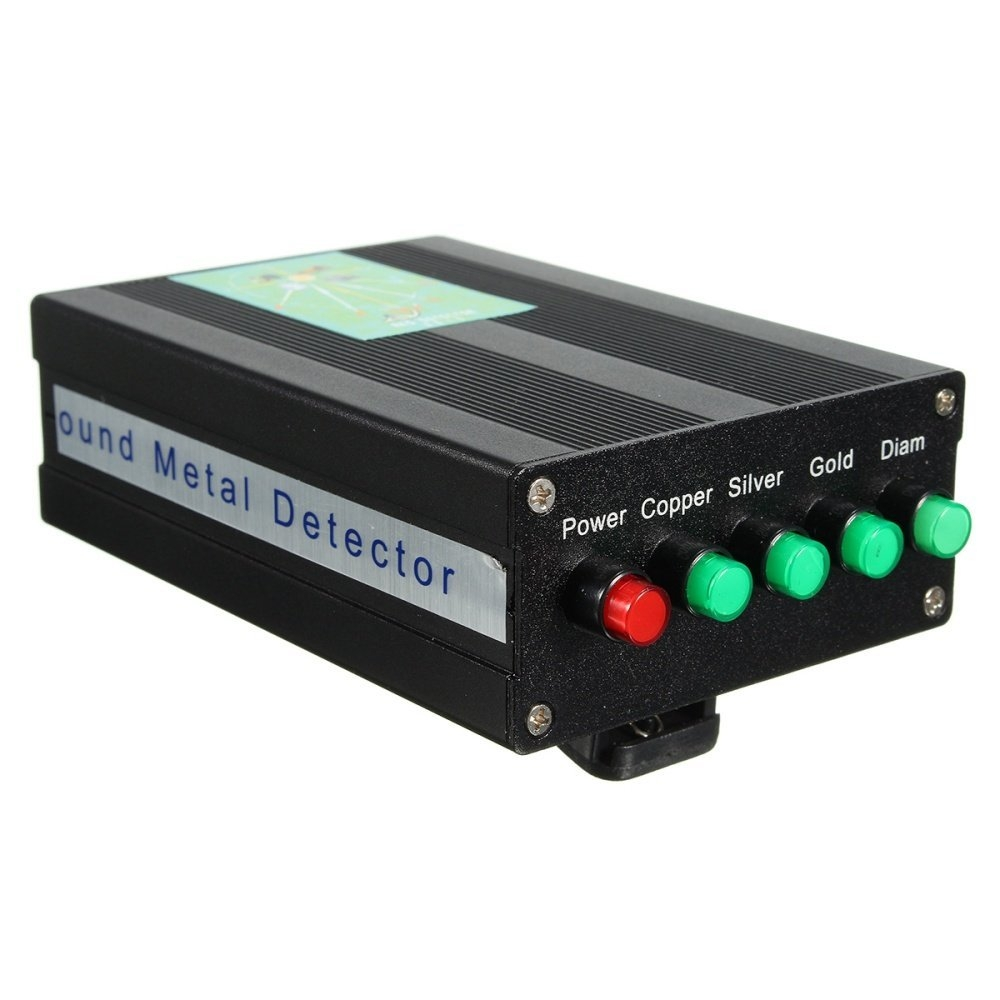 Buy Universal 1000m Long Range Search Silver Metal Underground Gold Detector Diamond Aks 3d Image