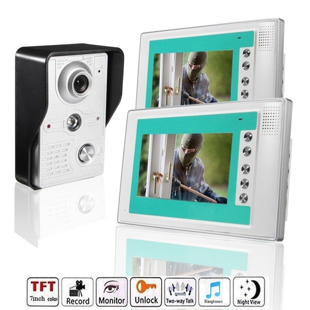 Buy Universal 7 Wire Video Door Phone Doorbell Intercom Camera Tft Lcd Monitor Wiring Image