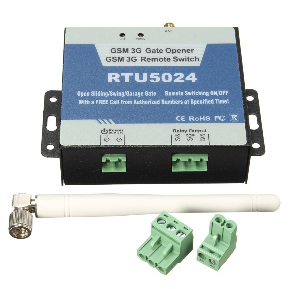 Universal GSM Gate Opener Relay Switch Remote Access Control