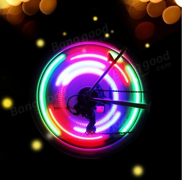 Willow Silica Gel Wheel Spoke Light Bicycle Light Wheel Light Color optional
