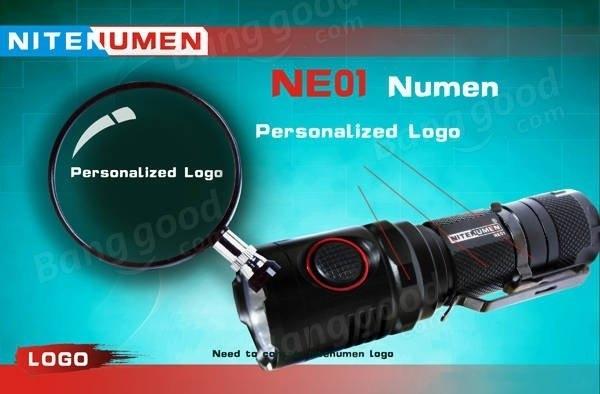 NITENUMEN NE01 XP-L V5 1060LM USB Rechargeable Multitask LED Flashlight
