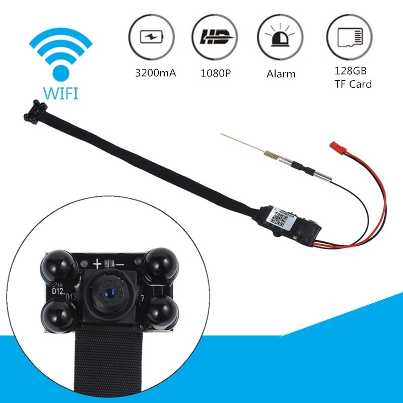 UNIVERSAL HD 1080P Wireless Mini WiFi Hidden Camera DIY Module IP DV