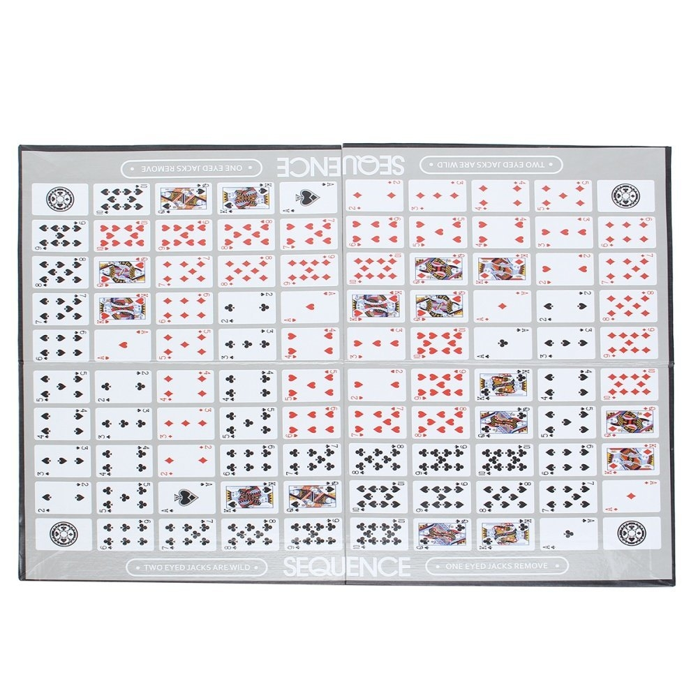 Buy Universal Sequence Card Game Challenge Strategy Board Games W