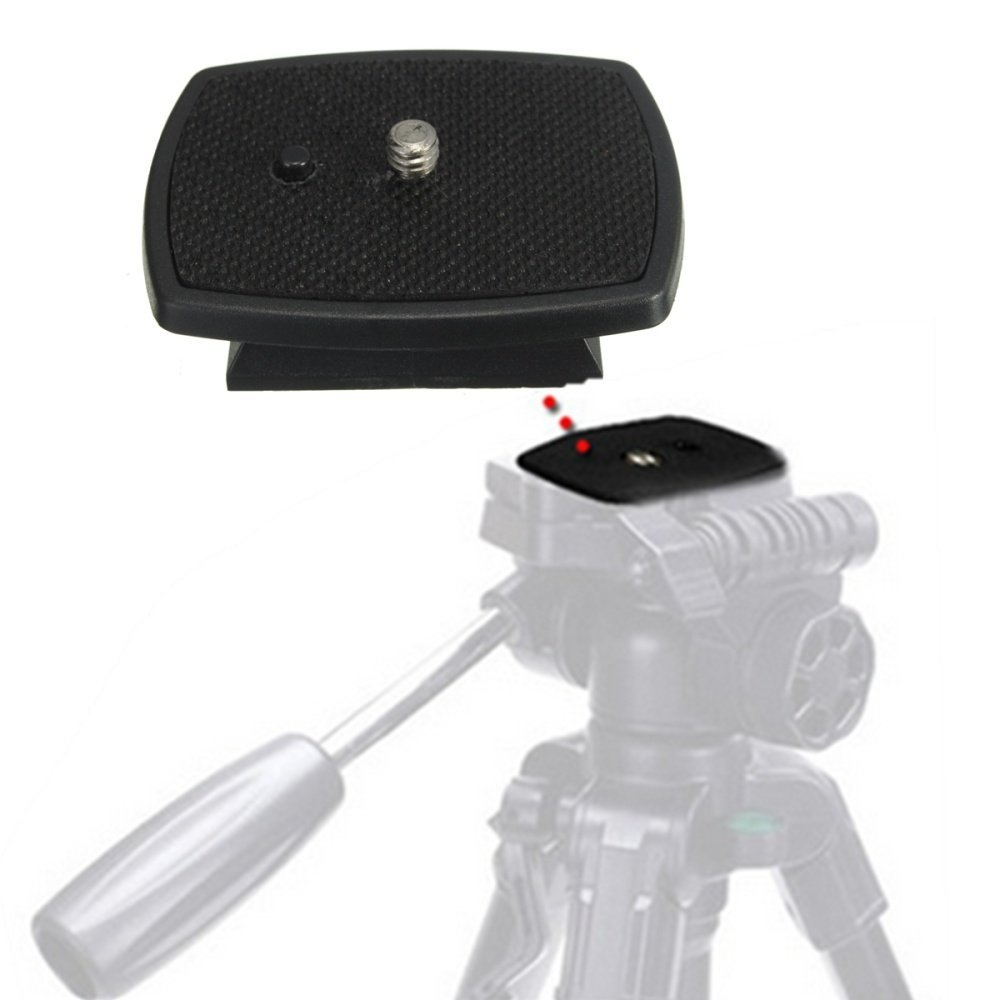 Quick release plates attach to the tripod mount on your camera and allow you to quickly and easily attach and detach your camera from a compatible tripod ...