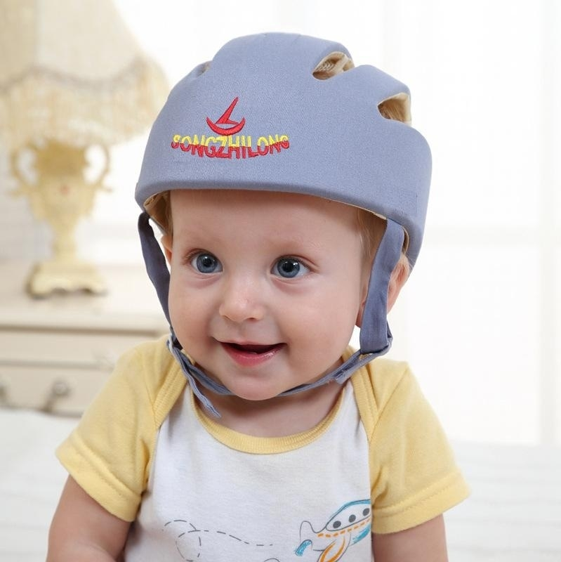 a43cd9fc3 Universal Adjustable Infant Baby Safety Helmet Kids Head Protection ...