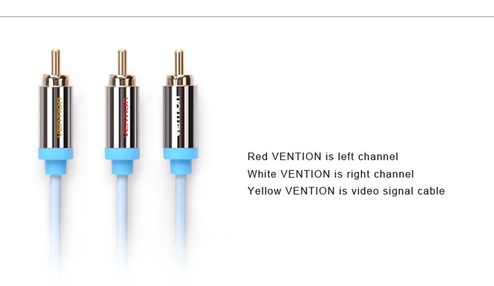 Vention VAB - R07 3.5mm to RCA Audio Cable