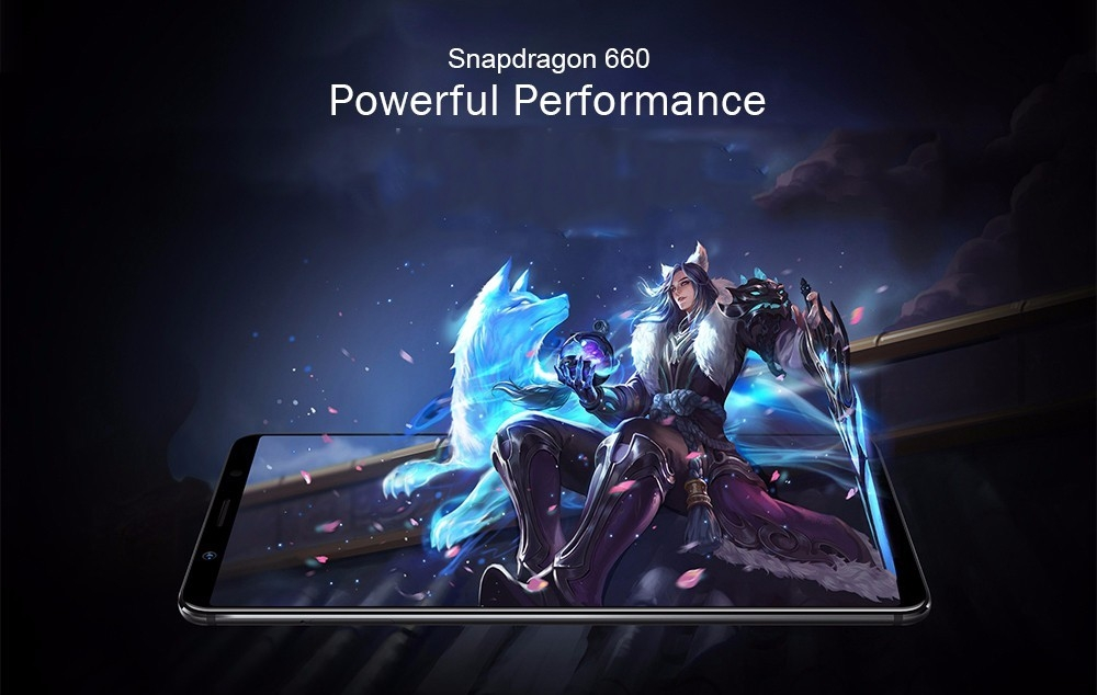 Vivo X20 4G Phablet 6.01 inch Android 7.1.1 Qualcomm Snapdragon 660 Octa Core 2.2GHz 4GB RAM 64GB ROM 3240mAh Battery Fast Charge Fingerprint Sensor Dual Band WiFi
