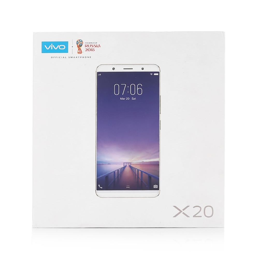 VivoX20 4G Phablet 6.01 inch Android 7.1.1 Qualcomm Snapdragon 660 Octa Core 2.2GHz 4GB RAM 64GB ROM 3240mAh Battery Fast Charge Fingerprint Sensor Dual Band WiFi