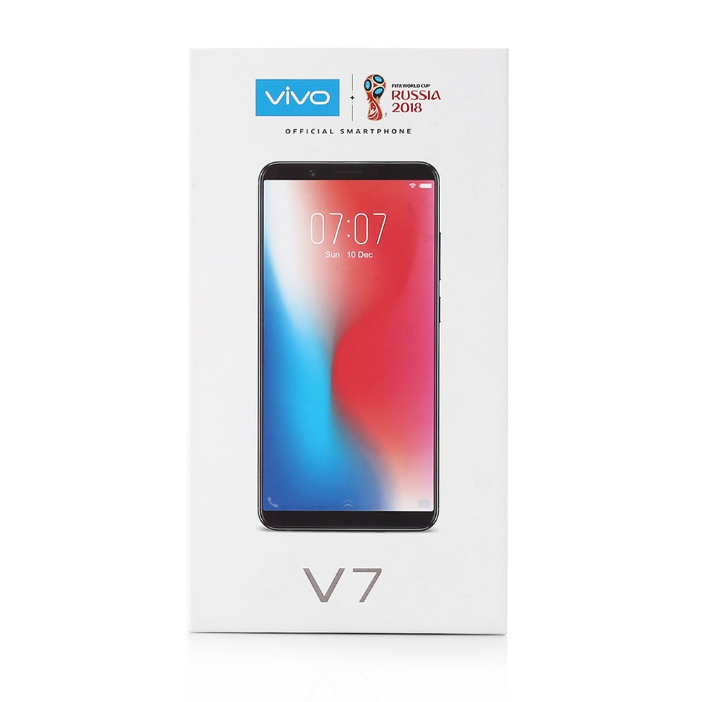 Vivo?V7 4G Phablet 5.7 inch Android 7.1 Qualcomm Snapdragon 450 Octa Core 1.8GHz 4GB RAM 32GB ROM 24.0MP Selfie Camera 3000mAh Battery Fingerprint Sensor