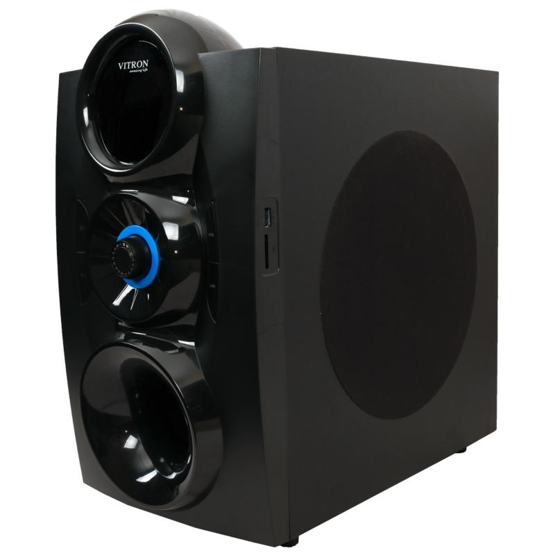 VITRON V834D Home Theater Sound System 3.1 Multimedia Bluetooth Speaker Subwoofer black 75w V834D 3
