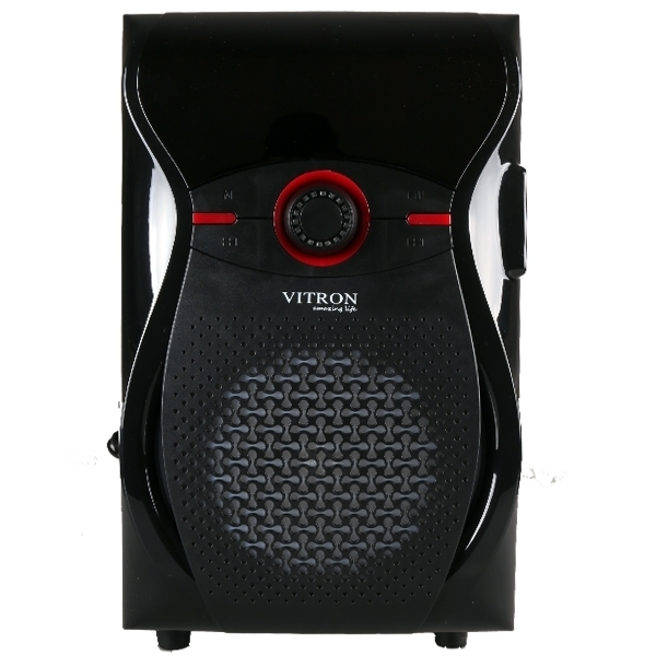 ITRON V604 Home Theater Sound System 2.1 Multimedia BT Full Functional Remote Speaker Subwoofer black 65W v604 5