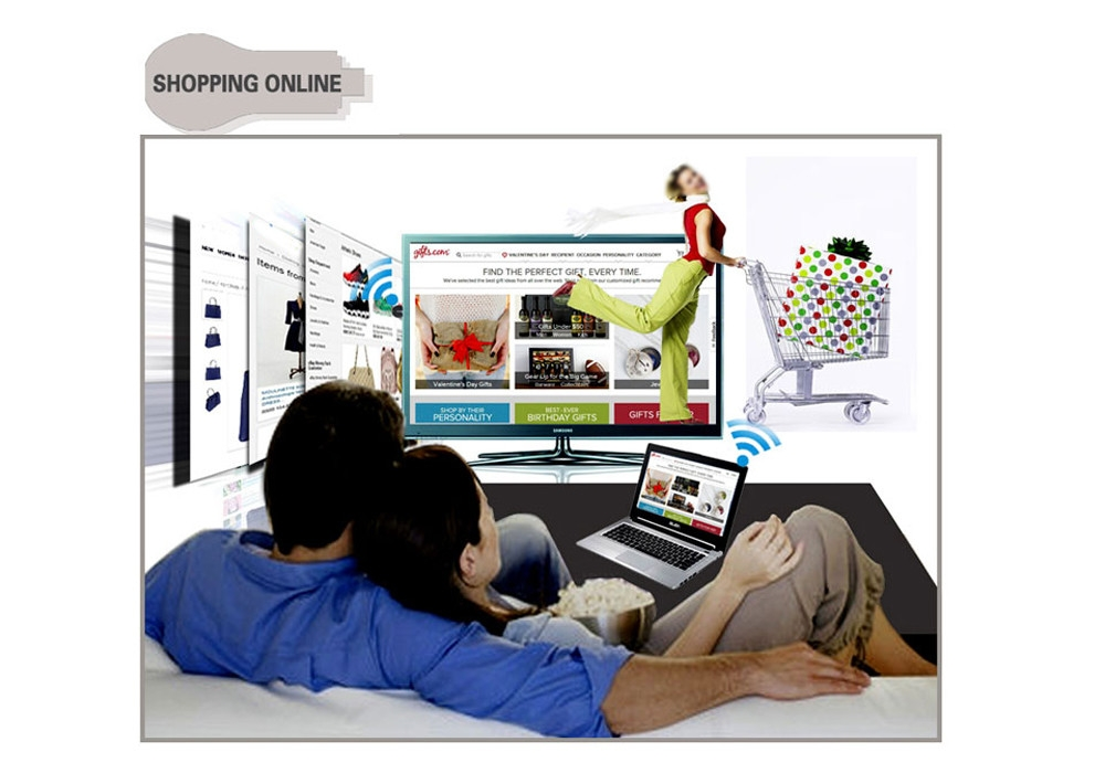 Wecast C2+ Wireless WiFi Display TV Dongle HDMI Streaming Media Player Support Airplay Mirroring Miracast DLNA