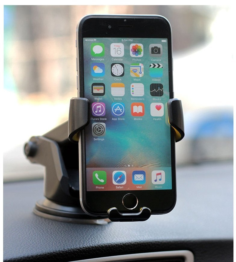XGODY One touch Car Mount Holder Windshield Dashboard
