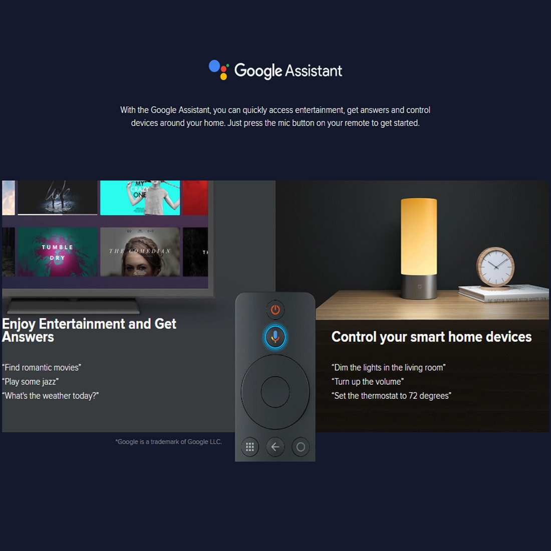 XIAOMI Mi Box S 4K HDR Android TV with Google Assistant Remote