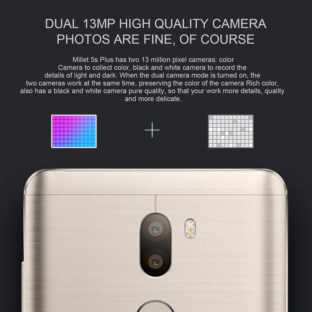 Buy Xiaomi Mi5s Plus 4gb Ram 64gb Rom Phone Snapdragon 821 Mi 5s Image