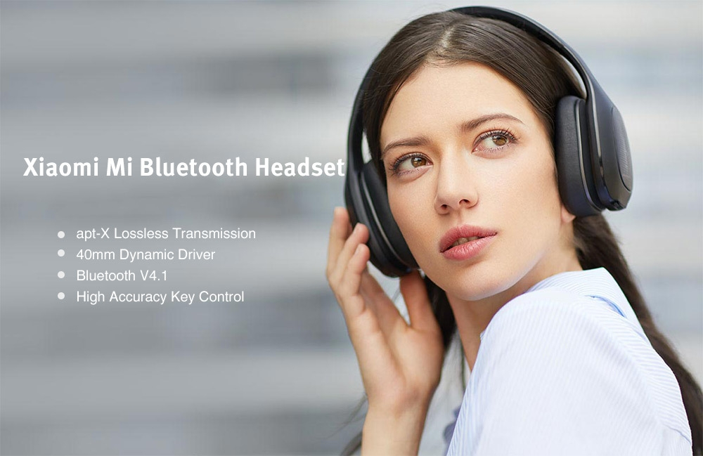 Xiaomi Mi Bluetooth Headset with 40mm Dynamic Driver Foldable Wireless Headphone