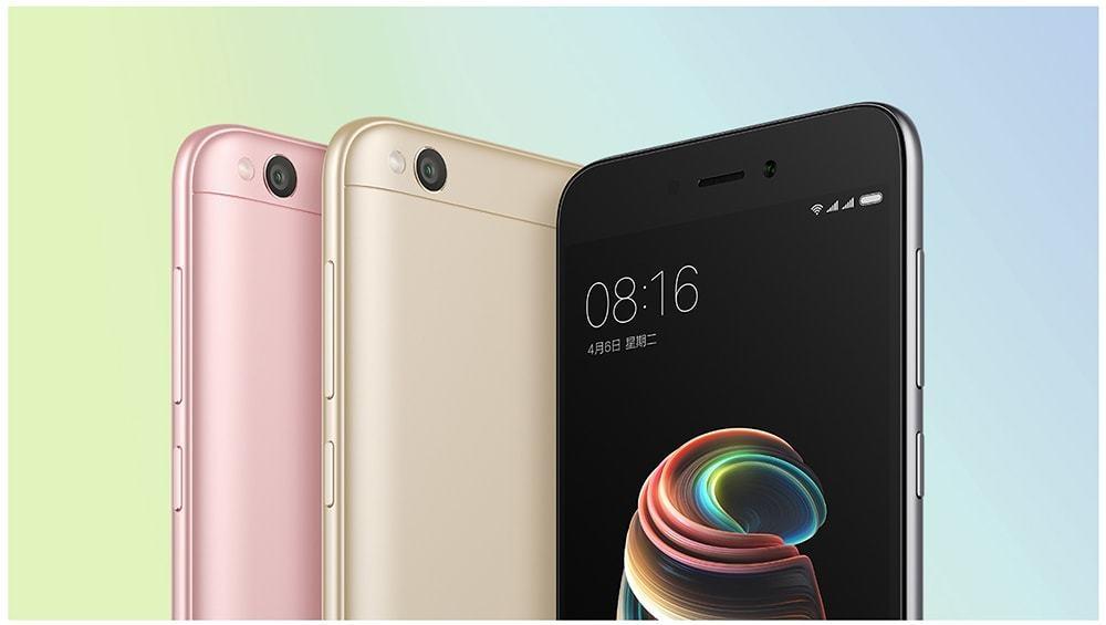 Xiaomi Redmi 5A 4G Smartphone Global Version 5.0 inch MIUI 8 Snapdragon 425 Quad Core 1.4GHz 2GB RAM 16GB ROM 13.0MP Rear Camera 3000mAh Battery