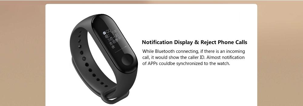 Xiaomi Mi band 3 Smart Wristband OLED Display 50M Waterproof Heart Rate  Monitor Bracelet