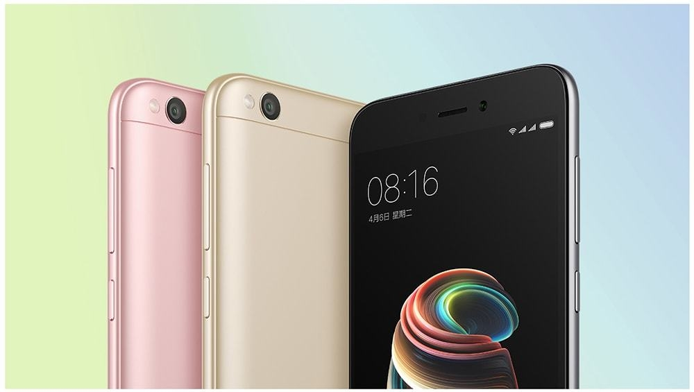 Xiaomi Redmi 5A 4G Smartphone Global Version 5.0 inch MIUI 8 Snapdragon 425 Quad Core 1.4GHz 2GB RAM 16GB ROM 13.0MP Rear Camera 3000mAh Battery