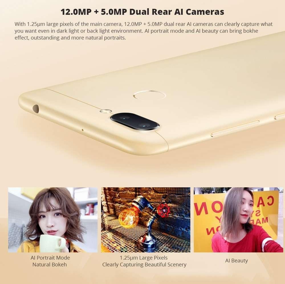 Buy Xiaomi Redmi 6 Dual Sim 3gb 32gb Gold Best Price Online 3 Key Features