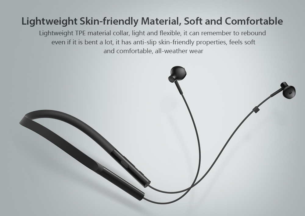 Xiaomi Necklace Bluetooth Earphone Wireless Earbuds with Mic and In-line Control Young Version