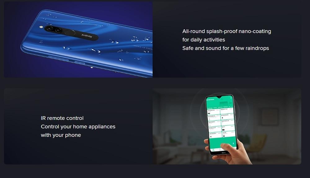 Xiaomi Redmi 8 4+64GB Sapphire Blue EU