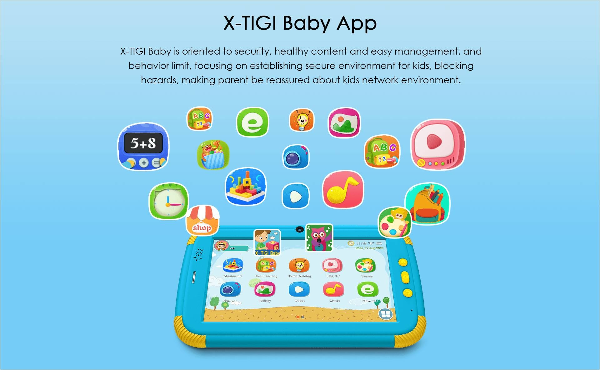 X TIGI BABY APP