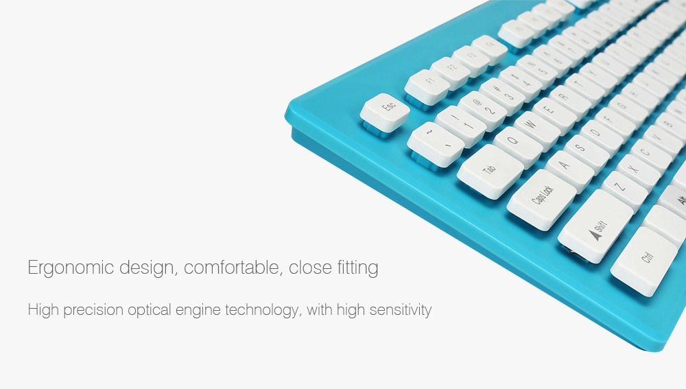 ZERODATE X1600 Keyboard Mouse Combo with LED Backlit