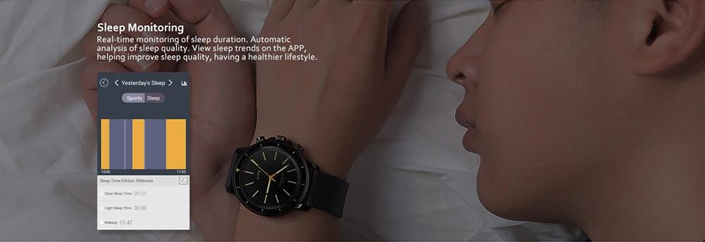 Zeblaze VIBE LITE Smart Watch Outdoor 5 ATM Waterproof Multifunctional Sport Fitness Trackers Wristband