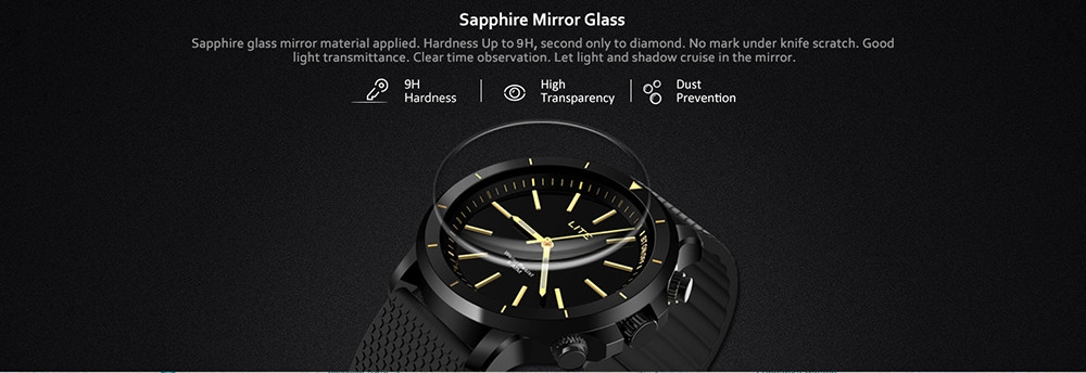 Zeblaze VIBE LITE Smart Watch Outdoor 5 ATM Waterproof Multifunctional Sport Fitness Trackers Wristband