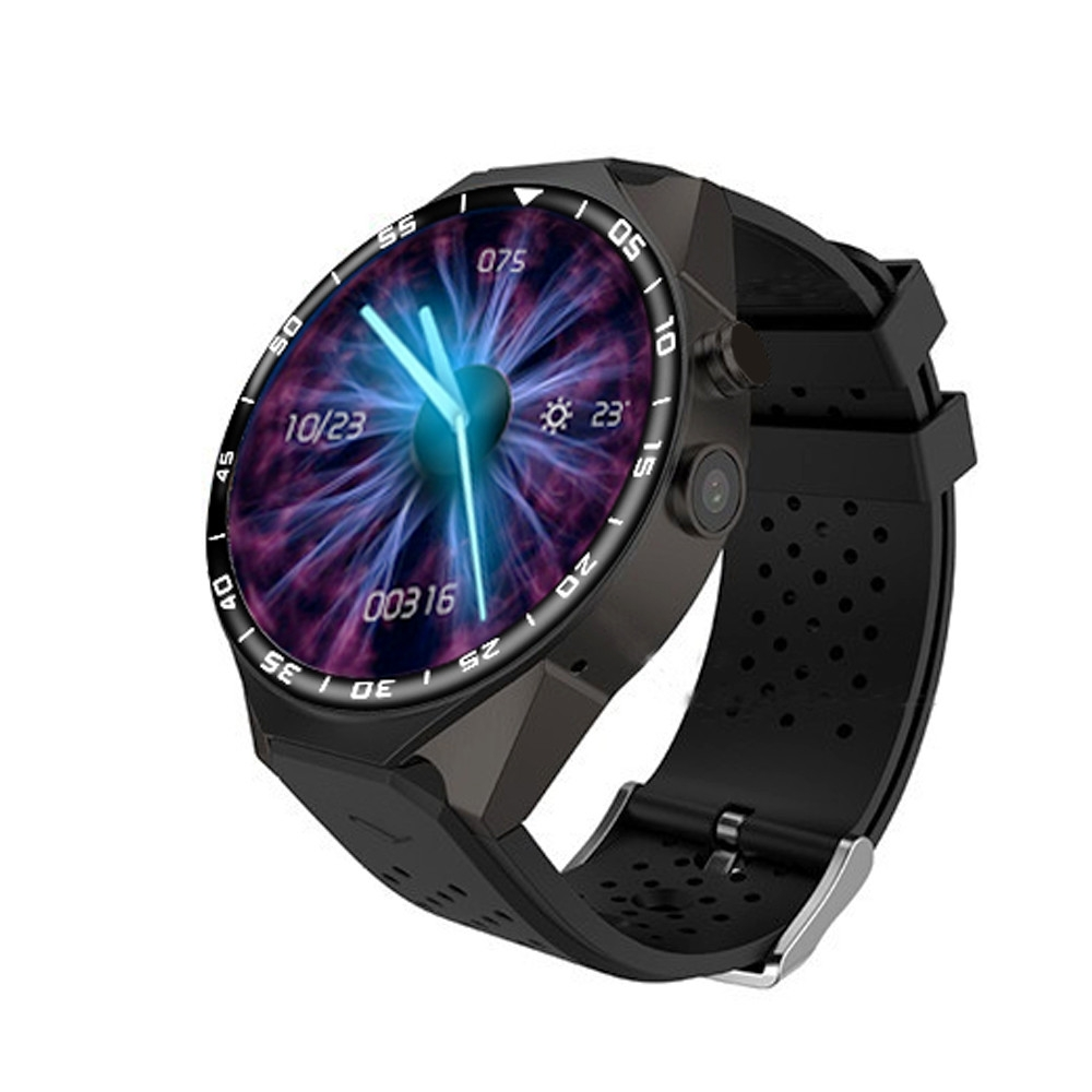3G Android Smart Watch Phone Heart Rate Monitor Touch Screen Support GPS Wifi SIM Camera App silver 3 14