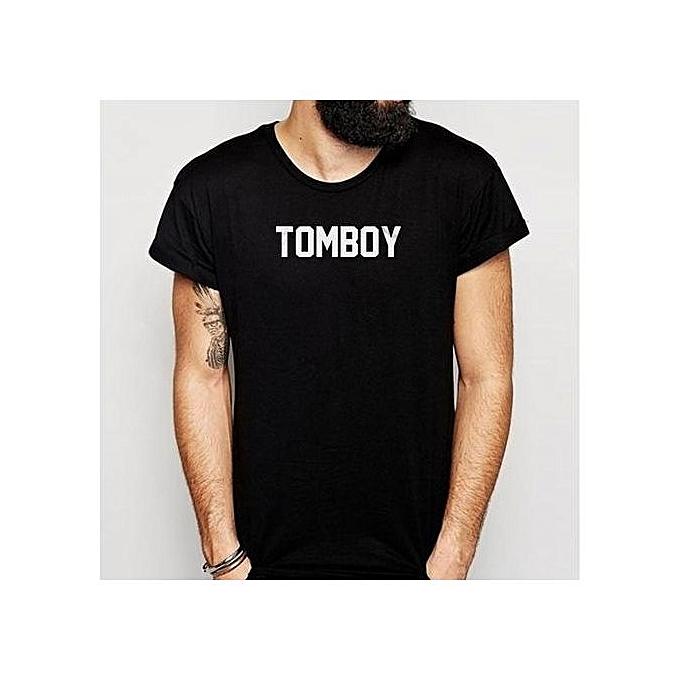 e805f2bcfb57 Fashion Tomboy Feminist Men'S T Shirt XS Fashion Summer T-Shirt ...